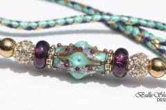 Mint Opalescence with purple CS