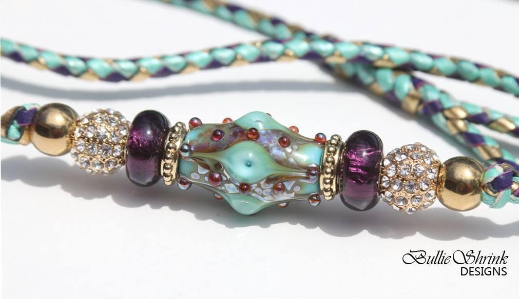 Mint Opalescence with purple CS