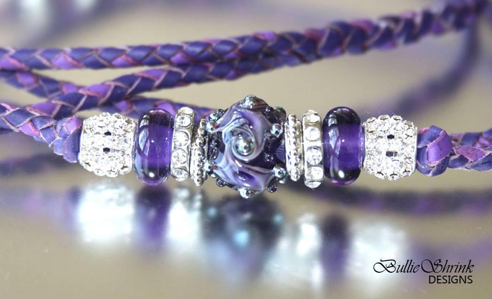 Purple Swirls