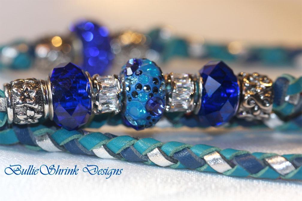 Swarovski blue Mosaic