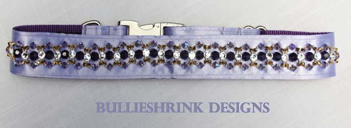 Lilac Swarovski Crystal Collar