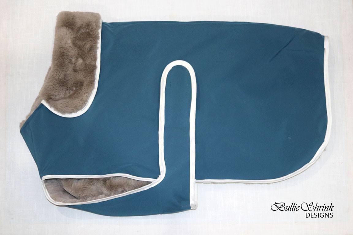 Teal Blue Polartec Power Shield Posh Parka